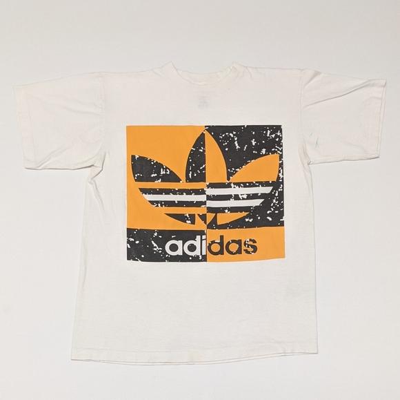 adidas Other - Vintage 80s Adidas Single Stitch T-shirt